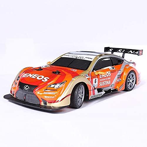 THj 1/14 Escala RC Car High Speed Monster Off Road 2.4GHZ Control Remoto 4WD 360 °; Rotación Stunt Drift Racing 4x4 RTR Radio Co