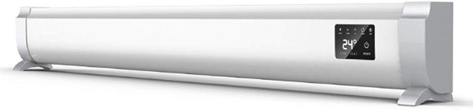 Radiador Eléctrico Calefactor eléctrico Calentador convector Ajustes de Calor 6, portátil Llevan la manija Ajustable del termostato y Temporizador - El Oro/Plata Calefactor