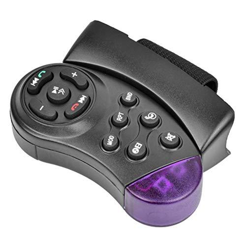 Telecomando sul Volante Senza Fili Telecomando Volante Autoradio 11 Pulsanti Universale per Lettore CD DVD MP5 per Auto