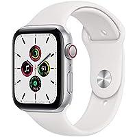 Apple Watch SE 44mm GPS & Cellular Smartwatch (Silver/White)
