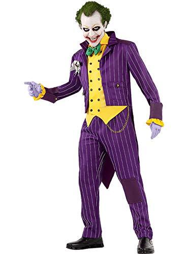 Funidelia | Disfraz de Joker - Arkham City Oficial para Hombre Talla S ▶ Superhéroes, DC Comics, Villanos