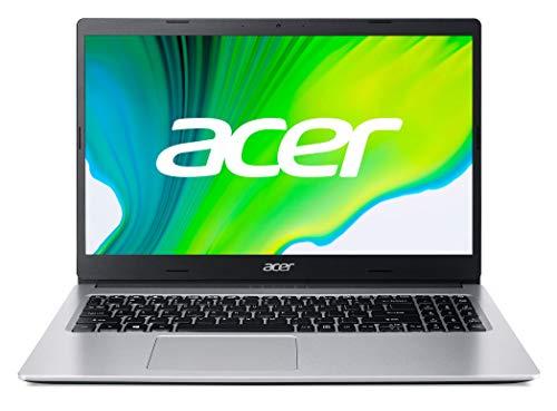 Acer Aspire 3 - Ordenador Portátil 15.6' FullHD (AMD Ryzen 5-3500U, 8GB RAM, 512GB SSD, UMA Graphics, Sin Sistema Operativo), Color Plata - Teclado Qwerty Español