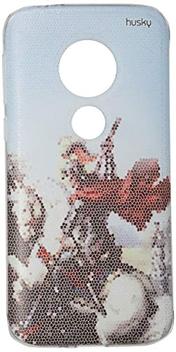 Capa Personalizada para Moto E5 Play - São Jorge Mosaico - Husky, Husky, Capa Protetora Flexível, Colorido