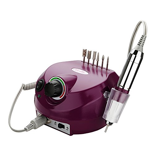 Belle Electric Nail Drill Professional 30000RPM Nail Drill Machine Electric Nail File Manicure Drill E File Nail Drill Set for Acrylic Gel Nails