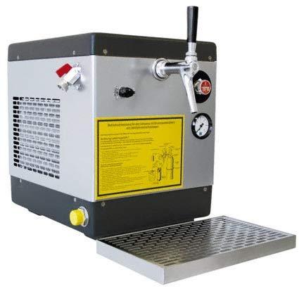 Bierkühler Zapfanlage verwendungsfertig 1-leitig, 64 Liter/h