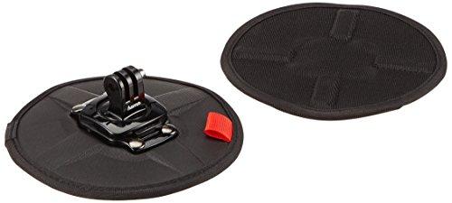 """Hama Flexible Magnet-Halterung für GoPro, """"Flex"""" (13,5cm Durchmesser, 360° drehbarer Anschlussadapter, extra starke Magnete, inkl. Klettpad) Action-Cam Magnethalter"""