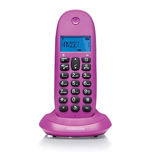 Motorola MOT31C1001VI - Teléfono inalámbrico,