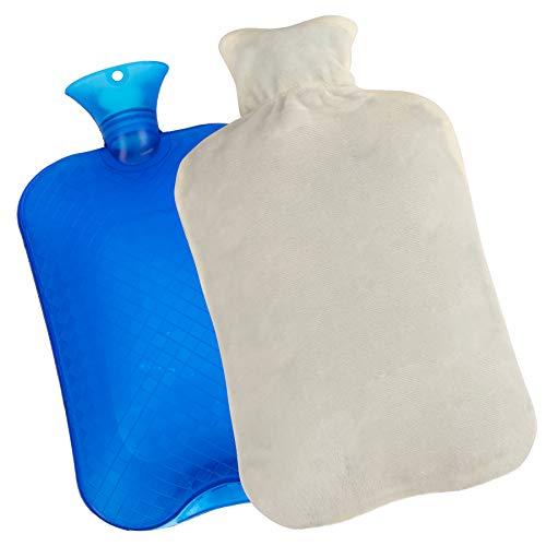 KUFL XXL 3L warmwaterkruik met betrekking tot menstruatieklachten, rugpijn, kou en maagpijn, warmtefles voor volwassenen…