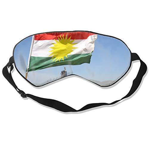Schlafmaske, Augenbinde, super glatte Augenmaske Kurdistan Kurd Kurds Kurd Kurd Kurdische Flagge Poster