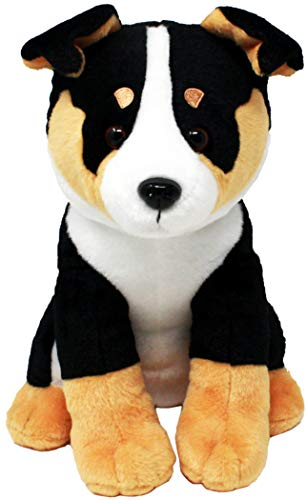 Shelter Pets Stuffed Animals: Barkley - 10' Bernese Mountain Mixed Mutt Dog Plush Toy - Based on Real-Life Adopted Pets - Hound -Benefiting The Animal Shelters They were Adopted from