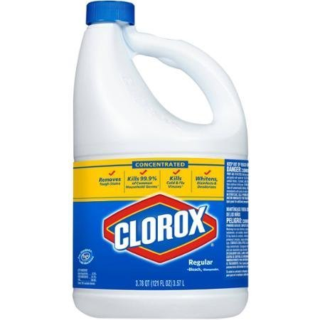 Concentrated Clorox HE Regular Bleach, 121 Oz. (Pack of 1)