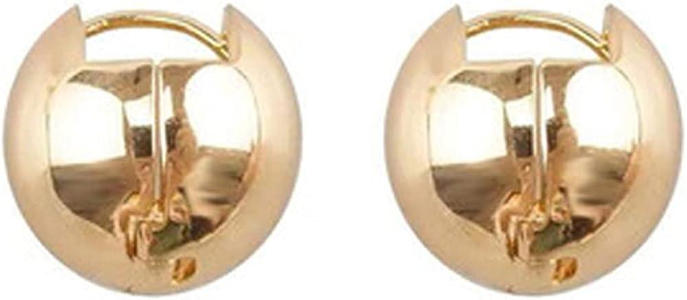 Small Hoop Earrings for Women,Gold Hypoallergenic Ball Cute Statement Fun Earrings For Teen Girls Kids Gold Plated Cool Dainty Jewelry