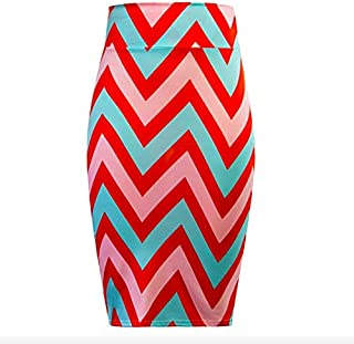 Body Con Skirt For Women - Multi Color