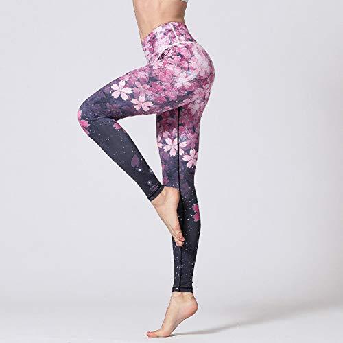 NSYJK yogabroek voor dames, ballerina, yogabroek, beenmanchetten, korte benen, sportieve dans, leggings, cross pants running, dames