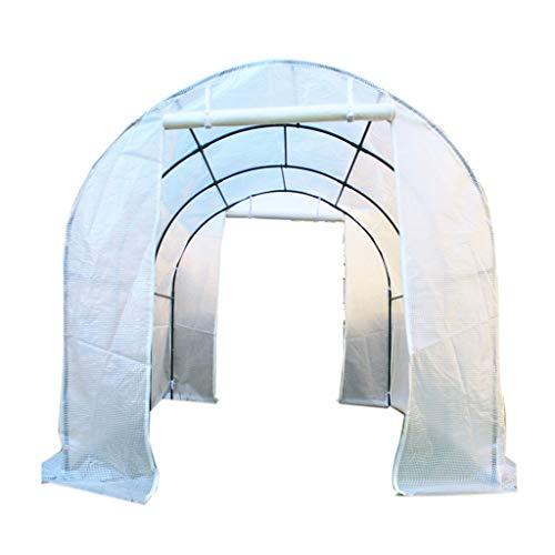 Serres de Jardin Tunnel Kit portatif extérieur de Chaude de Jardin d'usine de Fleur, Grande Maison Verte Transparente pour l'herbe Tomate (Taille : 152×120×152cm)
