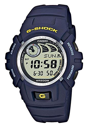 Casio G-SHOCK Orologio 20 BAR, Azzurro, Digitale, Uomo, G-2900F-2VER