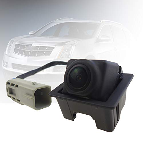Rear Park Assist Camera for Cadillac GM SRX 2010-2015, 23205689, Far Infrared Wide Angle HD Night Vision Waterproof, Replacement Tailgate Rear View Backup Reverse Safty Cameras backup Cameras Vehicle