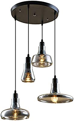 Amazon.com: Alora 3-Light Triangular Pendant Fixture in ...