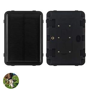 immagine di WYXIN Inseguitore dell'animale Domestico di energia Solare, Localizzatore GPS Magnetico Forte WiFi per Bestiame da Mucca Pecora Carrozza Veicolo, Standby Lungo