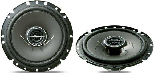 Pioneer TS 1702 I 17 cm Markenspezifische 2-Wege-Lautsprecher (170 Watt, Steckverbinder für: Renault, Opel, Volkswagen, Peugeot, Citroen, Kia, Hyundai)