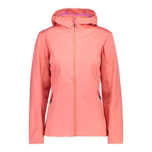 CMP Damen Softshelljacken 30A5416 Jacke, Flamingo, D38