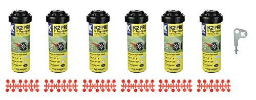 K-Rain K2 Pro Gear Drive 6-Pack with Install Kit