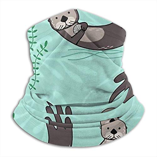 WlQshop Sciarpe,Collo Scaldacollo Funny Panda Neck Warmer Scarf Gaiter Face Mask Bandanas for Dust Cold Weather Winter Outdoors Festivals Sports for Men And Women