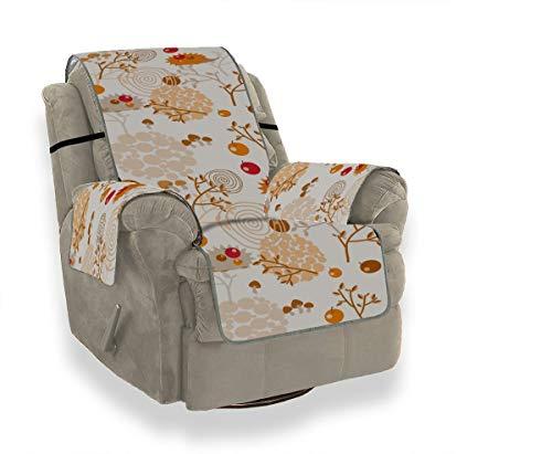 JEOLVP Adorable Cute Hedgehogs Mit Apple Sofa Stuhl Schonbezug Schonbezug Ohrensessel Sofa Samtbezug Möbelbeschützer Für Haustiere, Kinder, Katzen, Sofa