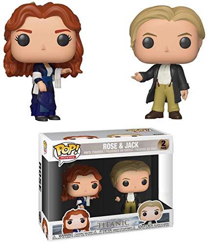 Funko - Figurine Titanic - 2-Pack Rose & Jack Exclu Pop 10cm - 0889698364379