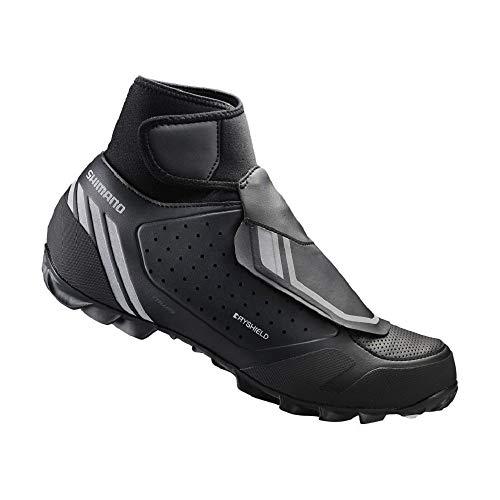 Shimano Men's SH-MW5 Cycling Shoe (Black- 40)