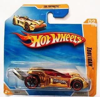 Hot Wheels 2009-2010 Gold TOOLIGAN #2/214, HW Premiere #2/52 (Short Card)