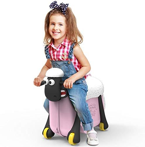Shaun das Schaf Kinderkoffer (Rosa) - 2