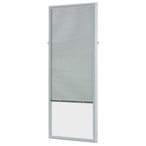 ODL Add On Blinds for Raised Frame Doors - Outer Frame Measurement 24' x 66'- Home Improvement - Easy to Instal, Use and Maintain - Innovative Window Shades in-Between The Glass Panels