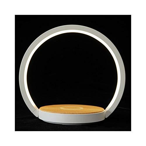 WFL-lámpara de escritorio Tabla Wireless luz de carga de la lámpara LED de carga rápida dormitorio de la lámpara plegable lámpara de cabecera del hotel creativo de la lámpara de la lámpara de mesa Lám
