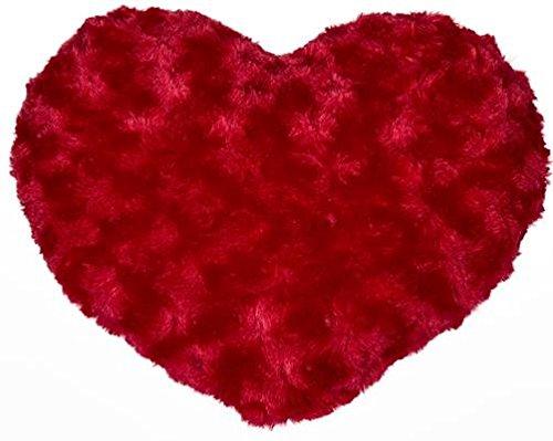 KT Kissen Herz rot 100% Polyester ca. 30 x 19 cm