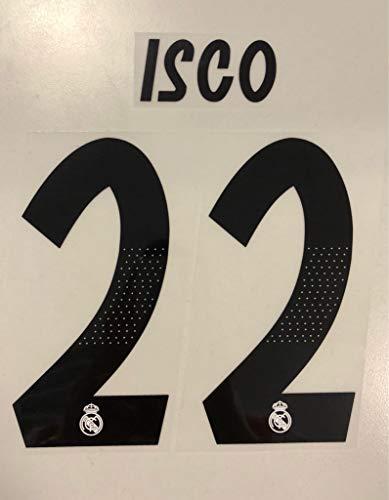 flock Original Real Madrid Trikot 17cm - ISCO 22