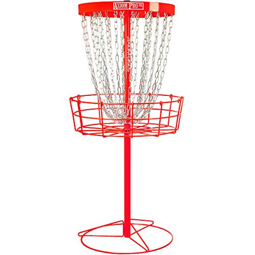 Axiom Discs Pro HD Disc Golf Baskets (Red)