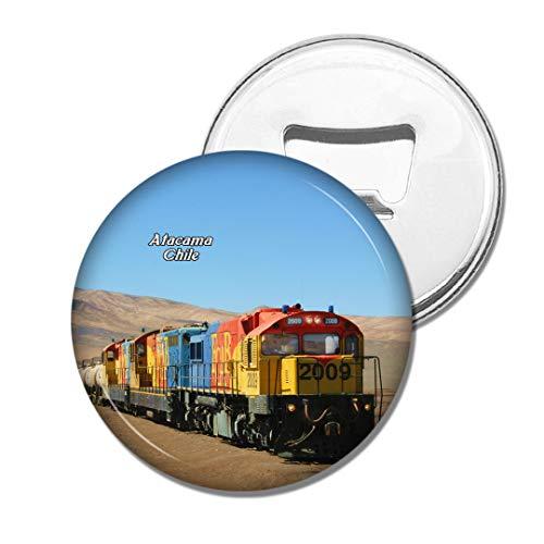 Weekino Train Saltpeter Antofagasta Désert d'Atacama Chili Bière Ouvre-Bouteille Aimant De Réfrigérateur Voyage Souvenir Autocollant de réfrigérateur Fort