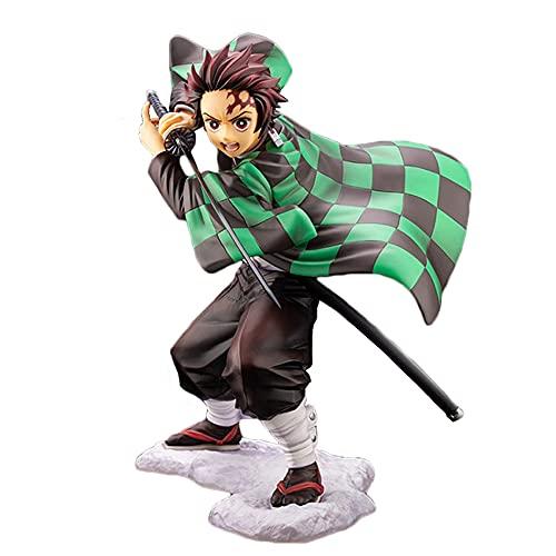 YODZKJ Nezuko Japón Anime Demon Slayer Kimetsu no Yaiba Figura PVC Figura de acción Modelo Guerrero