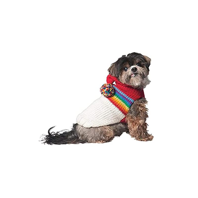 dog supplies online chilly dog vintage ski hoodie for dogs, large