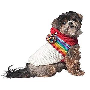 Chilly Dog Vintage Ski Hoodie for Dogs, Medium