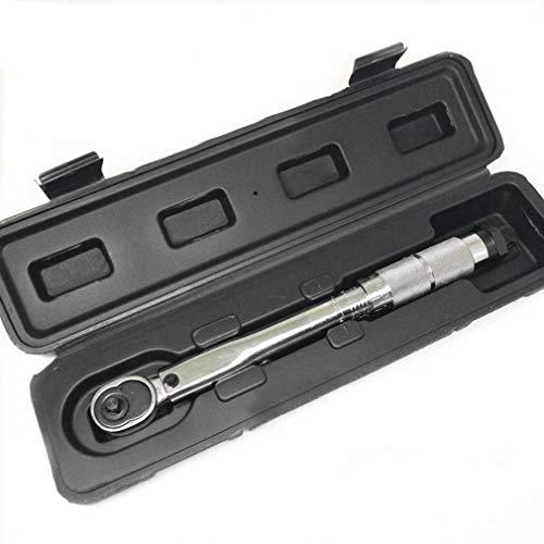 JINKEBIN 1/4 pulgadas a 5 25nm5nm clic torsión ajustable Llave Herramientas de reparación de bicicletas kit de reparación de bicicletas de herramientas de la llave inglesa de la mano del sistema de he
