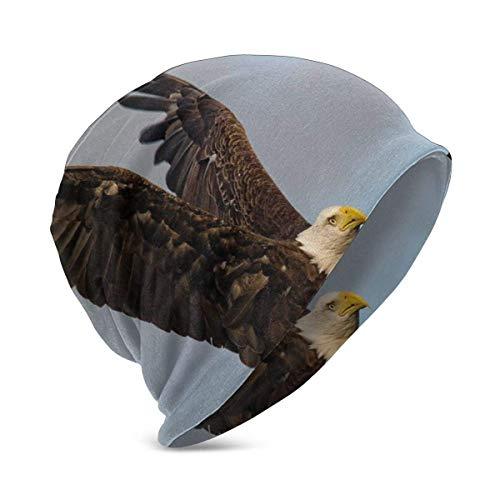 Foto de un pájaro Volando en Cielo Abierto Animal Wildlife Freedom, Unisex Teen Varios Estilos de Gorro de Punto