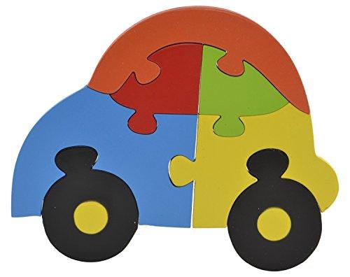 Skillofun Wooden Take Apart Baby Puzzle Large - Nano, Multi Color