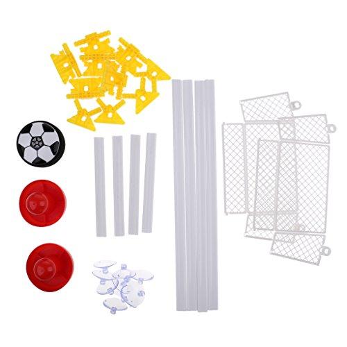 Sharplace Air Hockey mit Luftkissenball, inklusive 1 x Luftkissenball, 2 Tore mit Saugnäpfen und 2 Schläger