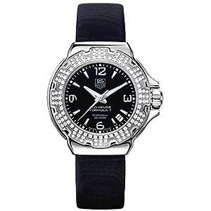 TAG Heuer Women's WAC1214.FC6218 Formula 1 Glamour Diamond Accented Watch image