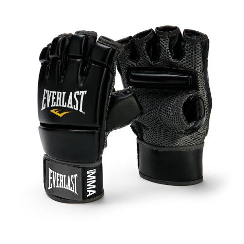 Everlast MMA Kickboxing Gloves (Black)