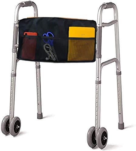 Walker Tas, Hands Gratis Accessoire Opbergmand voor Rolstoel, Opvouwbare Walker, Rollator, Tote Caddy Pouch voor Ouderen, Handicap, Senioren en Gehandicapten