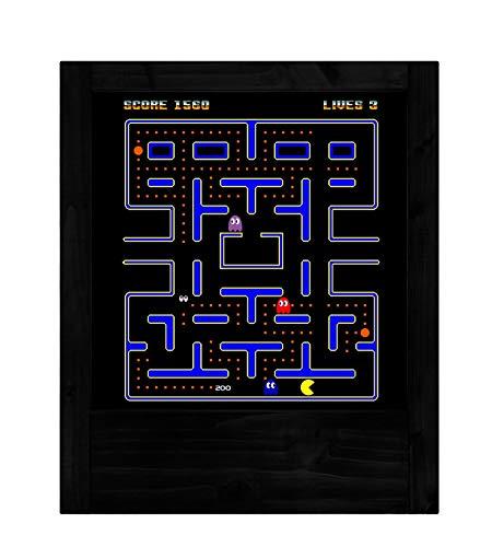 Lámpara negra Pacman