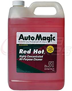 Auto Magic Red Hot By Highly Concentrated All-Purpose Cleaner - 1 Gallon